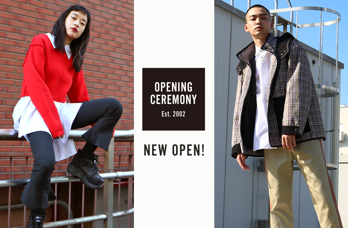OPENING CEREMONY NEW OPEN