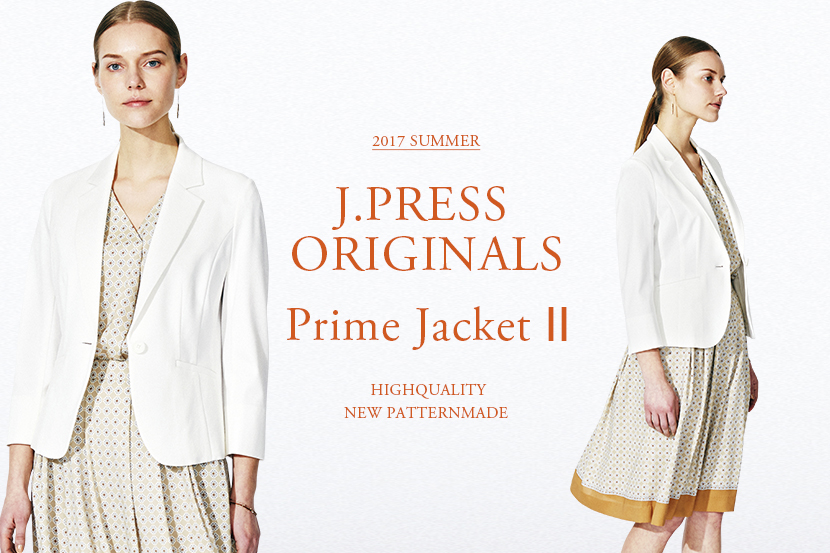 Prime Jacket & 2017SUMMER COLLECTION -J.PRESS レディス