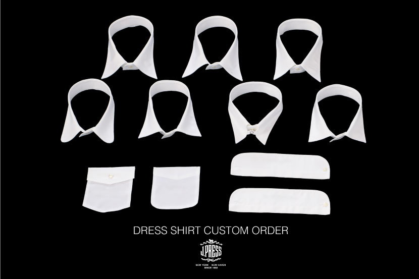 DRESS SHIRT CUSTOM ORDER - J.PRESS