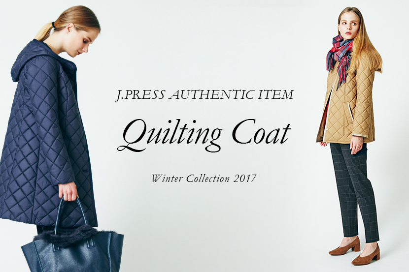 QUILTING COAT - J.PRESSレディス