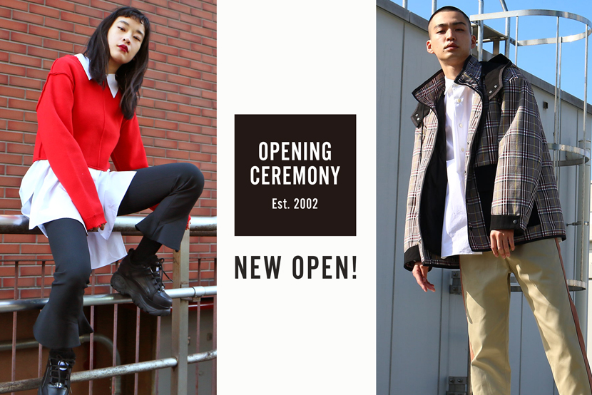 OPENING CEREMONY NEW OPEN - ONWARD CROSSET