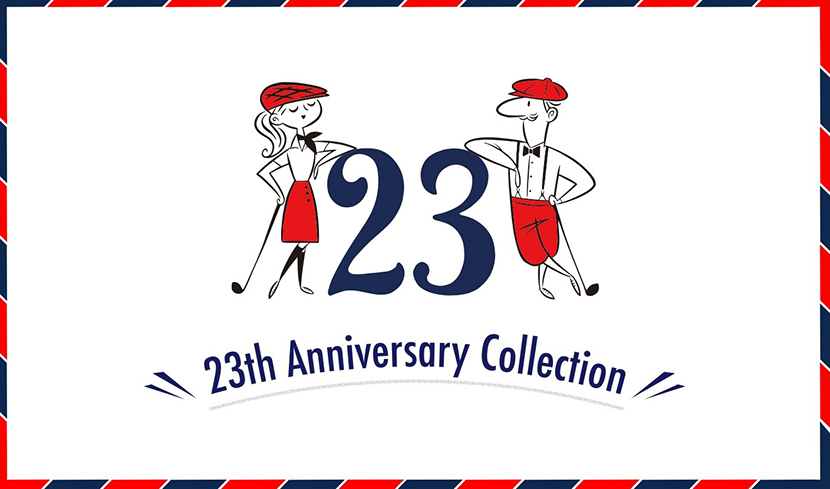 23th ANNIVERSARY COLLECTION - 23区GOLF