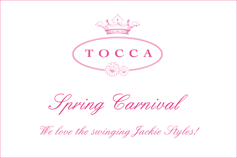 We love the swinging Jackie Styles!Spring Carnival - TOCCA