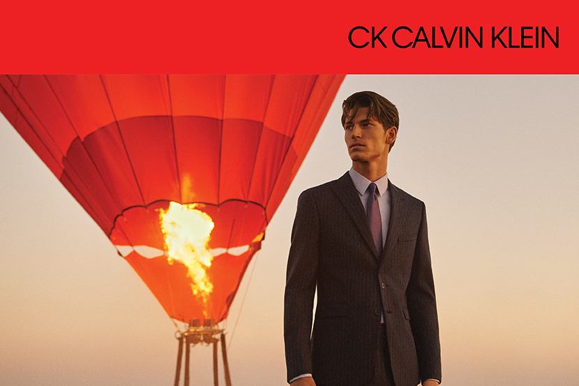 PATTERN MADE SUIT FAIR - CK CALVIN KLEIN