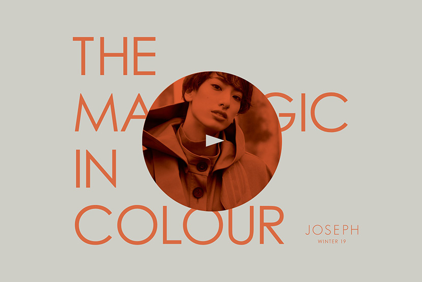 REI YUZUKA // THE MAGIC IN COLOUR 03/ORANGE - JOSEPH