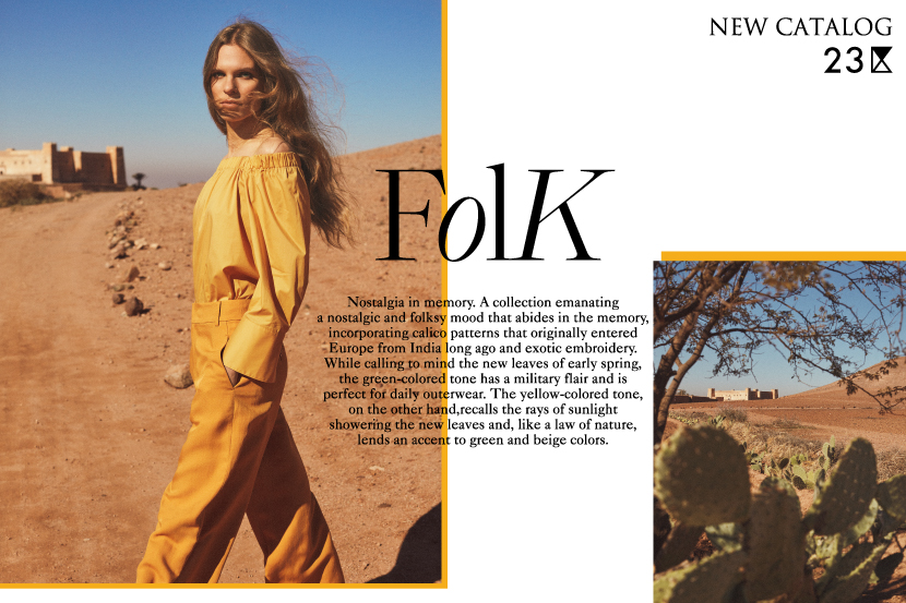 NEW CATALOG -FOLK-  - 23区