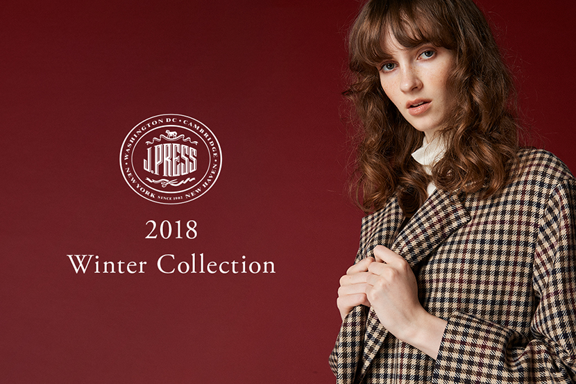 2018 Winter Collection - J.PRESS LADIES