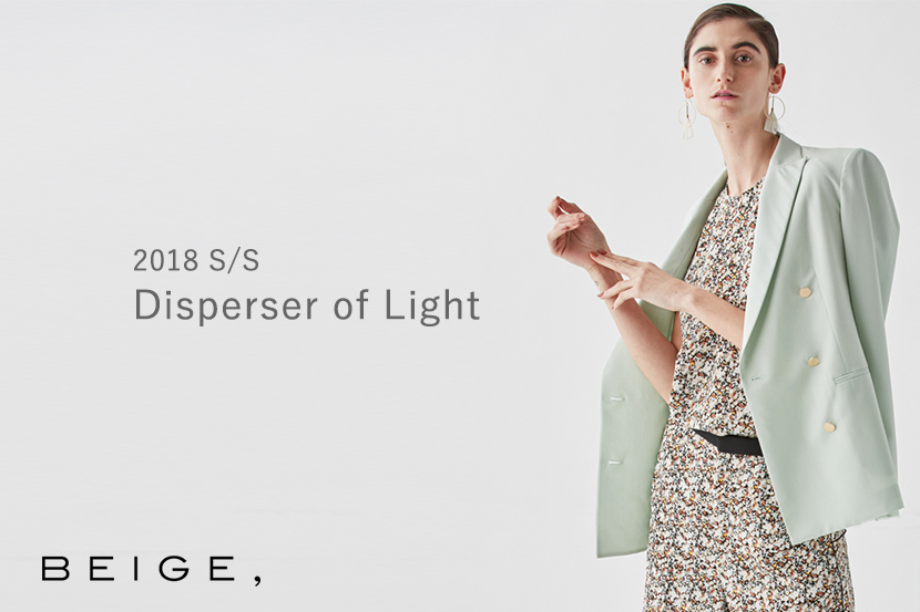 2018S/S Disperser of Light -BEIGE,