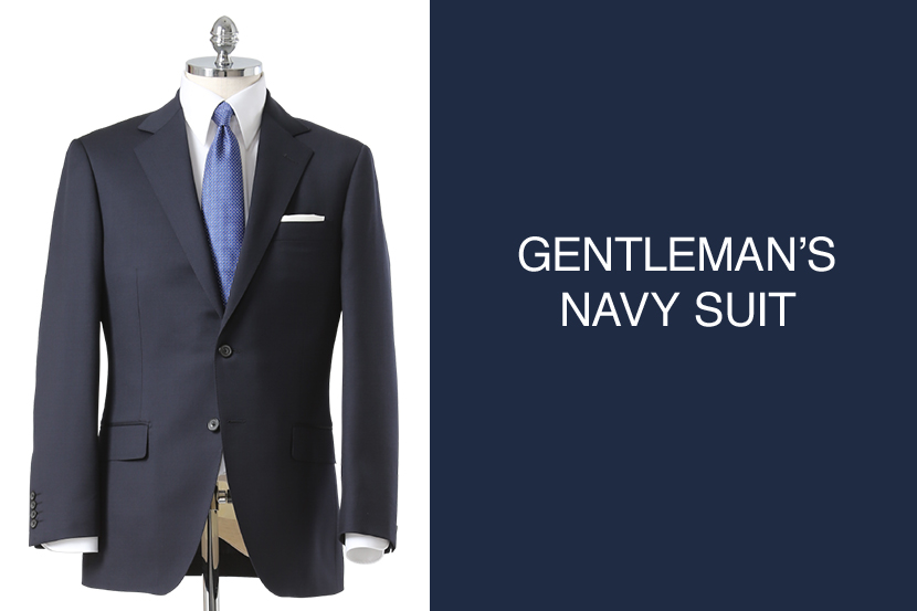 GENTLEMAN'S NAVY SUIT - 五大陸