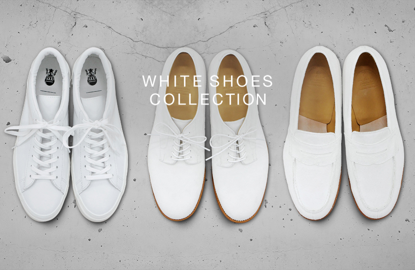 WHITE SHOES COLLECTION - 五大陸