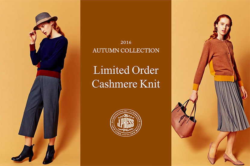 Limited Order Cashmere Knit - J.PRESSレディス
