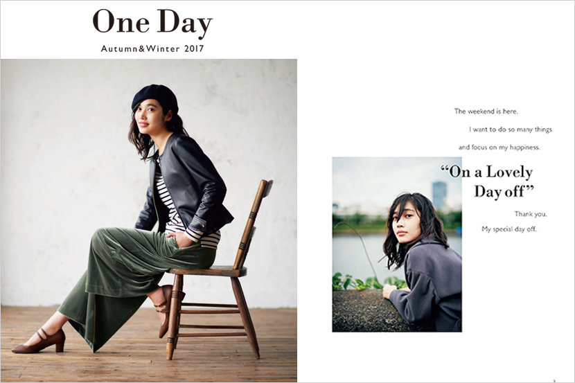 2017 Autumn & Winter Catalog 公開 - One Day - 組曲