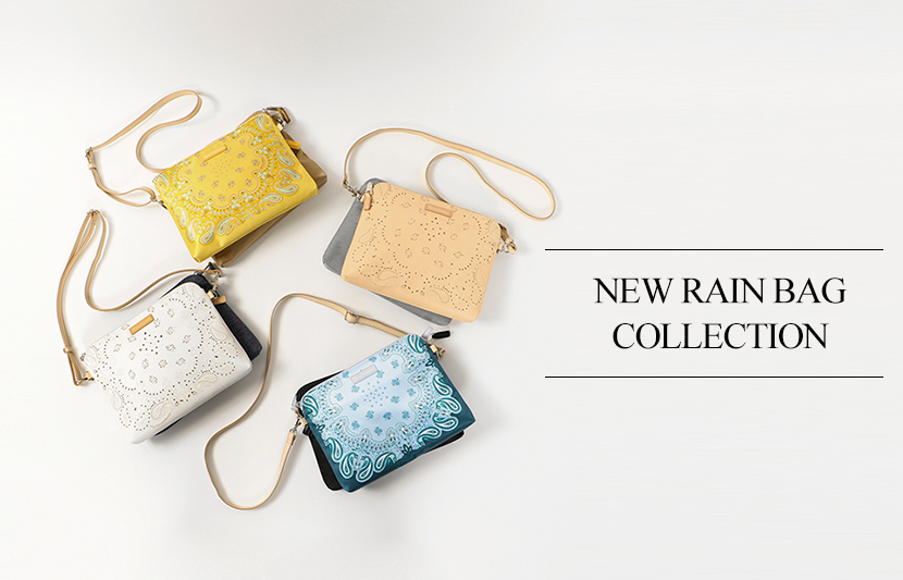 NEW RAIN BAG COLLECTION - 23区BAG